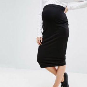 Maternity Midi Skirt